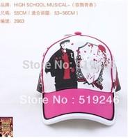 Free shopping 2013 New  bonnet wholesale MARVEL-heroes children Baseball Cap Hat sun hat Blue colour 2858