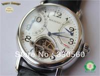 Original Seagull REAL Sapphire Glass Skeleton Perpetual Tourbillon Automatic Mechanical Mens Luxury Wrist Watches m172s