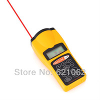 Free shipping Durable Ultrasonic Distance Measurer,Area Volum Meter, Laser Designator, LCD Night Light, 8284