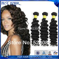 Cheap unprocessed virgin malaysian curly hair 4pcs  lot