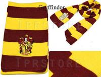 Harry Potter Scarves Movie Fans' Favorite School Unisex Striped Gryffindor Slytherin Scarve Free shipping P15