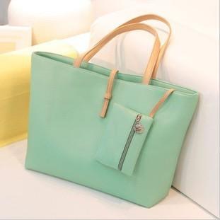 1pcs free shipping, candy color trend vintage messenger bag women's handbag female PU fashion shoulder bag