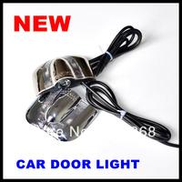 Wholesale Door light No Drill type Car LED door lights for car Decoration door prejection welcome light  9th Gen