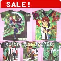 in stock Wholesale 2013 new T Short sleeve cartoon style brand clothing kids t-shirt tee for boy cartoon t shirt