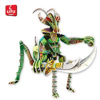LITU 3D PUZZLE_carton_Mantis Soldier   Style No.5771