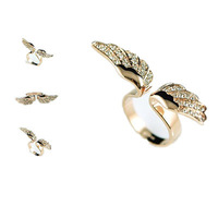 Minimum Order $6  New Arrival Items  Hot Sales Angel Wing Jewelry Rings Wholesale Designer Jewelry Lovely For Women  1$ R148