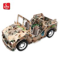 LITU 3D PUZZLE_DIY Car Toys 3663
