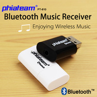 Factory Supply New Wireless Audio Bluetooth Music Receiver Stereo Adapter Super Mini USB Dongle Music  Adapter For Smart phone
