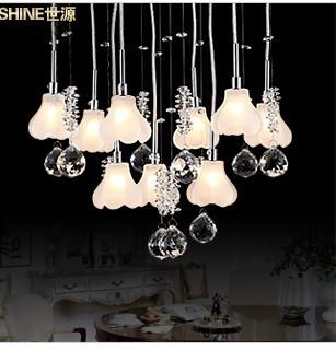 moderne pendelleuchte kristall lampe restaurant lampe schlafzimmer lampe wohnzimmer lampen 7153. Black Bedroom Furniture Sets. Home Design Ideas