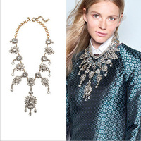 N00236 2014 Free Shipping necklaces & pendants fashion Unique Romantic choker Necklace pendant statement women jewelry