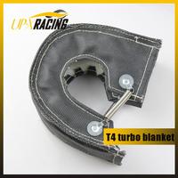 BLACK TURBO BLANKET HEAT SHIELD TURBOCHARGER COVER FOR T04B GT35 GT40 T88 T4 B