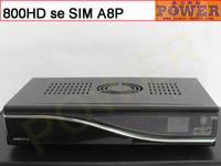free shiping  sunray 800se HD or dm 800 hd se original sim A8P card bcm 4505 digital satellite tv receiver dvb s2 Enigma2