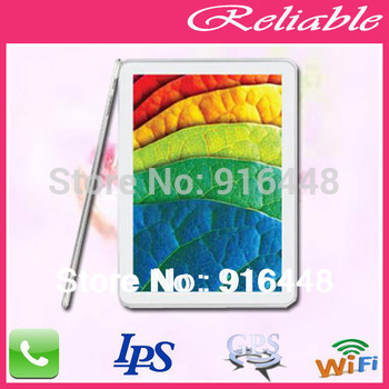 Hot Sale IPS  Tablet pc Support  wifi Dual Cameras+ built in 3G+ GPS Navigation + 1GB RAM Sanei N10 Quad Core