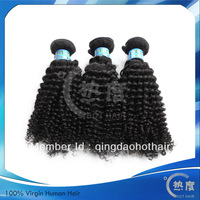 DHL free shipping AAAAA grade never tangling never shedding virgin Mongolian kinky curly hair
