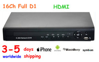 Free Dropshipping P2P cloud service HDMI full D1 cctv dvr 16 Channel 4CH Alarm support mobilephone view Free DDNS