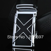 High Quality Men's 100% Real Durable Cowskin Leather Belt First Layer Cowskin Belt Automatic Buckle Belt Gift Belt 50pcs/lot