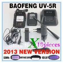 BAOFENG  New launch 4w 128 channel UV-5R 136-174&400-520MHz dual band dual display dual standby walkie talkie   uv5r