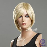 2013 Free shipping women wigs short blond wigs  for sale, kanekalon ladies wig