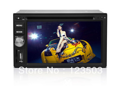 The fastest touch screen for6.2Inch 2Din universal RDS function Analog TV Wheel control Rear camera Free map etc(China (Mainland))