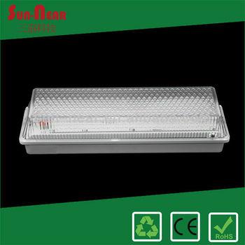 8W IP65 Die-cast aluminum base LED rechargeable emergency lantern