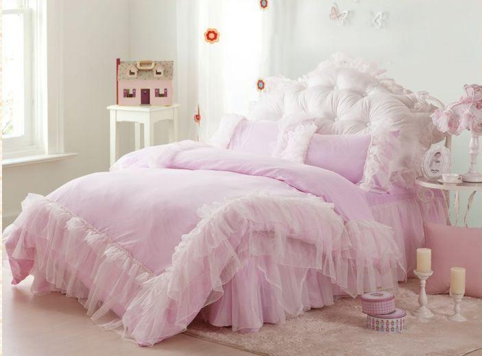 Beautiful Bedroom Expressions Coupons : De luxe rose,/princesse blanche neige ensemble de literie de belles ...