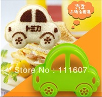 2013 new arrival free shipping 10pcs/lot car shape kids sandwich mould