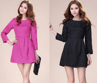 Free shipping2013 wholesale promotion factory direct, Europe and the United States new ladies dress, nine-sleeve women's skirts