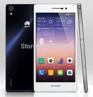 Original phone HUAWEI Ascend P7 Smartphone Hisilicon quad core 1.8GHz 2GB 16GB 13.0Mp camera 5.0 Inch LCD FHD Screen mobile 3G