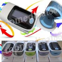 wholesale-2013 new arrival version finger pulse oximeter oxgyen monitor SPO2 PR OLED waveform 6 display modes beep arlam