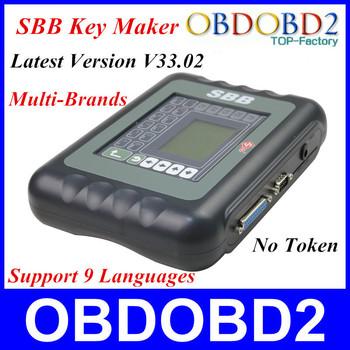 Hot Sale Auto Key Transponder Machine SBB 3 Years Warranty For Multi-brands Sbb Key Programmer V33.02 Support Multi-Languages