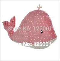Free Shipping 65cm Cute whale  Pillow creative plush cushions nap pillow sofa cushion