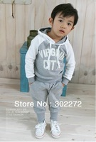 Hot sell ,New Baby boy's/girl's Sports Set 2pcs sport clothing set baby wear Kids Suit,(1 set/lot)