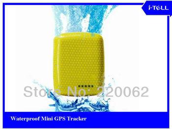 Free Shipment  Mini GPS tracker , Water proof,  low power warming, portable GPS personal tracker