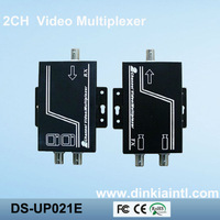 2 Channel Video Multiplexer for CCTV Security Camera by Coaxial Cable up to 600m   DS-UP021E