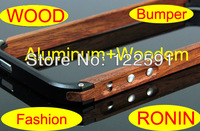 Ronin Metal Wood Bumper Case for iPhone 5&5S Limited Edition with Retail Package Ronin 5 wooden case