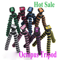 Free ship Multicolors Gorillapod Camera Tripod Octopus Holder/Stand w/Rotating Ball Mini Tripod For Universal Camera