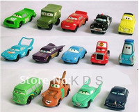 Free Shipping New Toys  14PCS/ Set  pixar  Cars  Figures Full Set PVC NEW  High Quality for Gift Toy Car  Children radio control