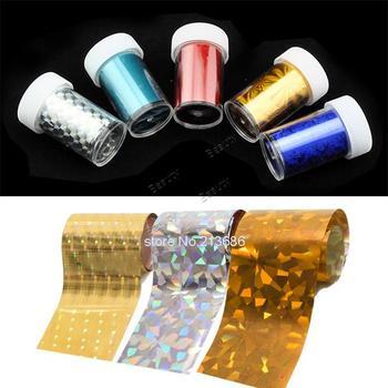 New Fashion Nail Art Transfer Foil Set Nail Tip Decoration 5 Different Styles/Set 13147 b015