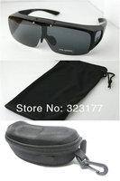 6pcs Fit Over Glasses Polaroid Sunglasses Flip Up Unisex fishing golf Polarized anteojos Gafas de Sol lunettes lentes oculos