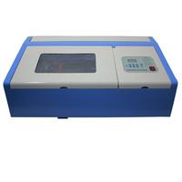 Free Shipping Latest JK-K3020  220v laser engraving   Machine metal  CO2 40w laser cutting machine