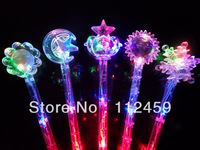 glow magic stick,flashing lighting flash sticks festival ,colors mixed party luminous stick