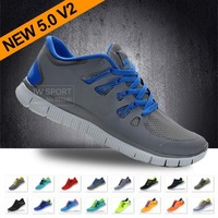 Free shipping 2013 NEW Wholesale Free 5.0 V2 Running Shoes Athletic Training For Men discount brand name shoes 18 colors