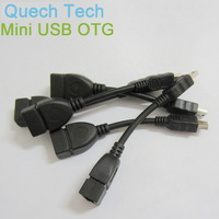 Promotion Micro Mini USB OTG Extension Cable For Tablet iPad Cell Phone iPhone Samsung Galaxy Free Shipping Wholesale In Stock