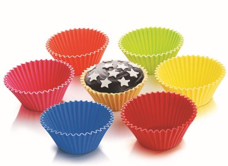 10pcs bakeware mini font b cupcake b font font b liners b font font b silicone