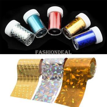 2014 New Fashion 5rolls/set Art Nail Transfer Foil Set Tip Decoration Sticker 5 Different Styles/Set Free Shipping 13147 b015