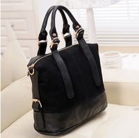 Handbags Designers Brand Genuine PU Leather Hot Selling New Matte Korean Style Retro Briefcase Fashion Messenger Bag Women Totes