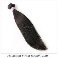 Elites Hair Products Malaysian Straight Hair 1 bundles Free Shipping Malaysian Virgin Hair Extension Remy Human Hair No Tangle