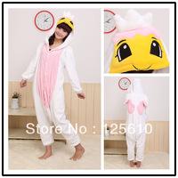 Cheap Cute Pyjamas Luxury Sleepwear  Animal Coral fleece stitch cartoon animal  play Costume unisex pyjamas by0017 Angel Pajamas