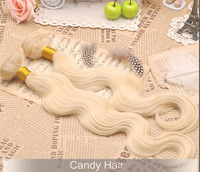 queen hair products 5a unprocessed peruvian virgin hair 2pcs lot  body wave blonde vrigin hair extensions 613 weaves can be dyed