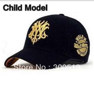 GG080 Child Fashion Baseball Cap Sports Caps Sun hat Casual Cap Unisex Hip-Hop Caps